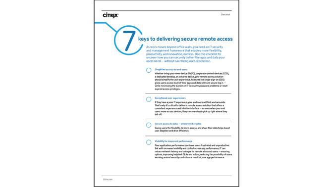 citrix whitepaper secure access